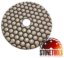 "ECO-DRY - 4"" Diamond polishing pads for Marble and Granite"