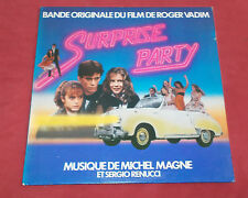 SURPRISE PARTY  LP BOF MICHEL MAGNE ET SERGIO RENUCCI  POCHETTE VOITURE