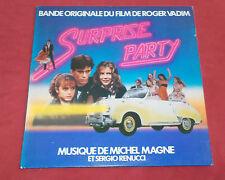 SURPRISE PARTY  LP BOF MICHEL MAGNE ET SERGIO RENUCCI  POCHETTE VOITURE