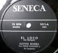 PEDRO INFANTE latin 78 EL LOCO  Verne Records