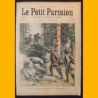 LE PETIT PARISIEN Supplément littéraire illustré Contrebandiers 20 avril 1902