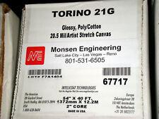 "54"" High Gloss Stretch Canvas TORINO21G-R4054"
