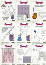 Disney's Cinderella Activity Cards Chase Card Set - Full Set of 9 from SkyBox