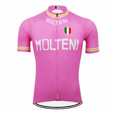 Brand New Team Molteni Pink Cycling Jersey, Retro