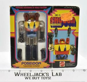 Poseidon 100% COMPLETE W/Box Shogun Warriors Vintage 1977 Mattel Vintage