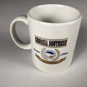 Georgia Southern Alumni Coffee Mug VTG 1994 Eagles Student Grad Limited Edition