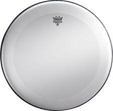 Remo Bass Drum Heads :  Powerstroke 3, Smooth White, 20 Diameter, Dynamo, No Str