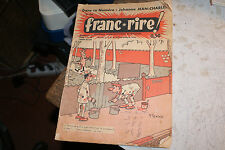 JOURNAL DESSINS HUMORISTIQUES FRANC RIRE N° 143 de 1963 JEAN CHARLES