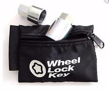 McGard Locks 70007 Wheel Key Lock Storage Pouch Black LC