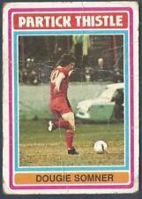 TOPPS 1976 SCOTTISH FOOTBALLERS #121-PARTICK THISTLE-AYR UNITED-DOUGIE SOMNER