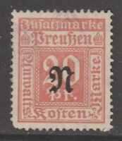 Germany Revenue fiscal  cinderella stamp 12-14-