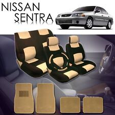 2000 2001 2002 2003 2004  for Nissan Sentra Seat Covers Mats