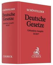 Deutsche Gesetze Gebundene Ausgabe II/2017 (2017, Gebundene Ausgabe)