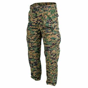 Helikon Tex USMC Hose Pants Digital Woodland Marpat US Marines MCCUU Uniform