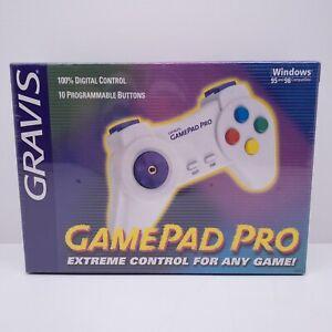 GRAVIS Gamepad Pro G42021 (42021 E) New Old Stock SEALED Windows 95 & 98 gaming