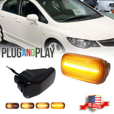 Dynamc Amber Led Side Marker Lamp For Jdm Spec Hondaacura Rsx Integra Civic Ep3 Fits Rsx