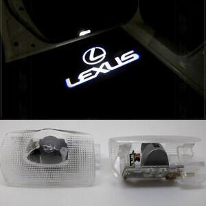 2 LED Logo Door Courtesy Lights Shadow Laser Projector for Lexus ES LS LX RX GX