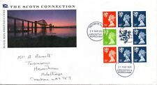 1989 Sg DX10 The Scots Connection Booklet First Day Cover Lancaster Cancellation