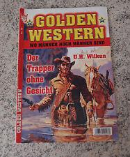 GOLDEN WESTERN Roman Heft Nr. 19/ Der Trapper ohne Gesicht