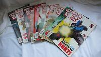 Comic Collection Job Lot Comics Judge Dredd  2000ad Issues 1254 - 1263