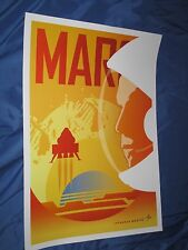 MARS / NASA Promotional Promo Poster by Lockheed Martin (Kennedy Space Center)