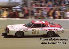 DAVID PEARSON #21 1975 PUROLATOR MERCURY MONTEGO NASCAR WINSTON CUP 8X10 PHOTO