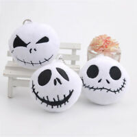 1Pc The Nightmare Before Christmas Jack Plush Toys With Keychain Mini Jth LrJNE
