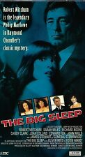 The Big Sleep (Vhs, 1978) Robert Mitchum. Sarah Miles