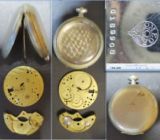Antique tasca omega 3691 ref 6169908 case pocket watch 49 mm Rarität old vintage