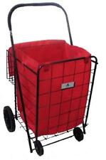Athome Eco-friendly Folding Shopping Cart Liner with Closable Cover