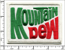 20 Pcs Embroidered Iron on patches Vintage Mountain Dew AP025mD