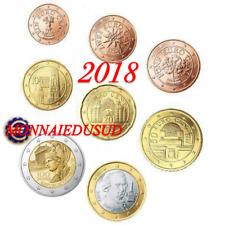 Série 1 Cent à 2 Euro Autriche 2018 - Série UNC