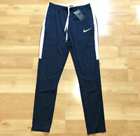 Nike Dry Academy Track Pant Navy Obsidian Dri-Fit Polyester Size XL NEW