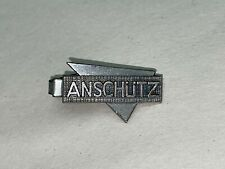 Vintage ANSCHUTZ Pistol and Sight Co. Advertising Tie-Clip or Clasp