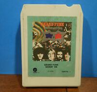 GRAND FUNK SHININ' ON 1974 STEREO 8 TRACK TAPE CARTRIDGE TESTED! B