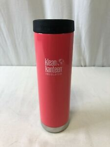 Klean Kanteen TKWide Insulated Water Bottle W/Cafe Cap Melon Punch 20oz