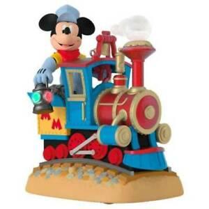 Hallmark 2017 Mickey's Magical Railroad, NIB, Free Shipping