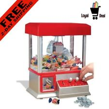 Carnival Arcade Electronic Claw Crane Game Machine Gum Prizes Candy Toy for Kids