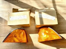 BMW 3 SERIES E36 TWO DOOR COUPE LEFT & RIGHT FRONT TURNING SIGNAL LIGHTS, PAIR.