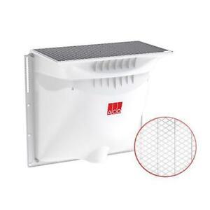 ACO Therm Komplett Set: Lichtschacht 800 x 600 mit 400 mm Tiefe + Metallrost