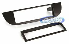 Scosche FT4275B Single DIN Black Installation Dash Kit for 2011-16 Fiat 500