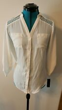 ALYX blouse off white small brand new with tags