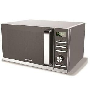 Dimplex 980538 23 Litre 900W  Silver Microwave Oven ~ Stainless Steel Interior