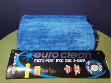 EuroClean 6x Micro Fiber 5 x 16  Mop Pads -  Pollen, Dust Lint Pet Hair MOP PADS