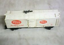 AMERICAN FLYER LINES 24058 White POST BREAKFAST CEREALS Pikemaster BOXCAR