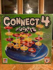 Milton Bradley Connect 4 Stackers Complete Game Add Another Dimension To Classic