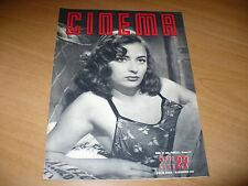RIVISTA CINEMA NUOVA SERIE N.27 NOVEMBRE 1949 MARINA BERTI VIVI GIOI JOHN FORD