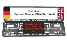 2 x número de placa rodea Land Rover Range Rover Evoque