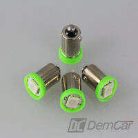 10 X LED Lampe Universel 1 SMD H6W BA9S Couleur Vert