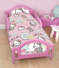 Hello Kitty 4 in 1 Junior Bed Set Bedding Bundle Duvet Cover Official
